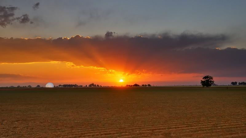 Doppler Effected Sunset