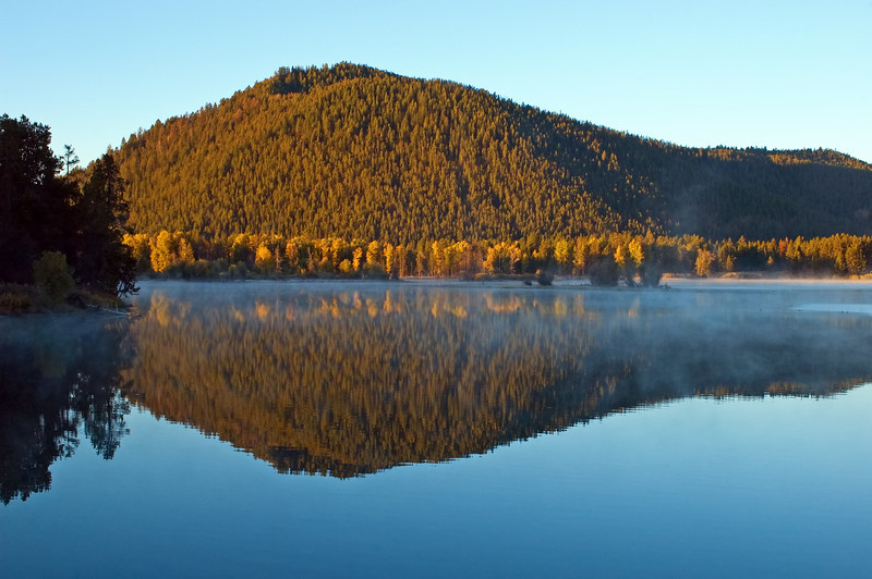 Oxbow Fall Reflections