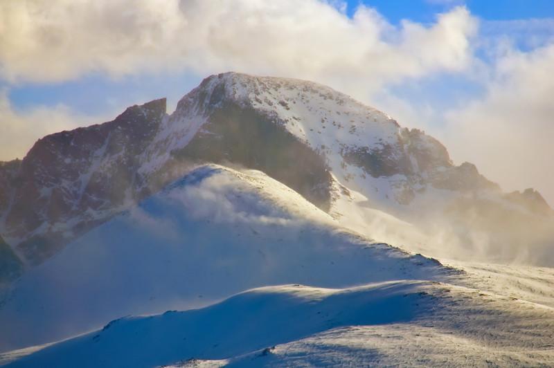 White Wilderness at 14,000 Feet