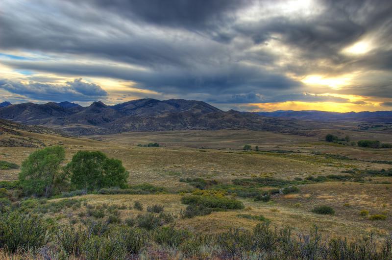 Eagle's Nest Laramie Foothills Grandeur
