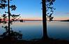 Yellowstone Lake Silhouettes
