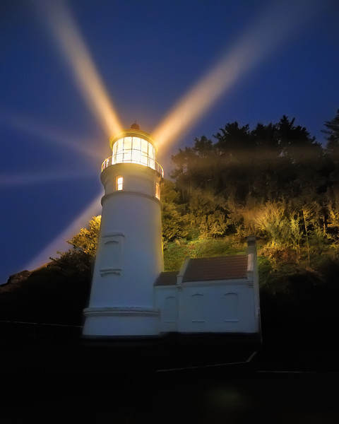 Heceta Head's Crown of Light