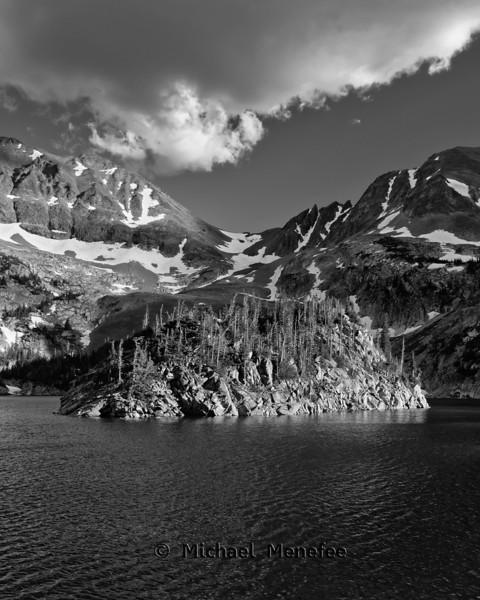 Lake Agnes Mountain Island