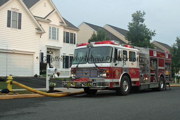 7/7/12 - Yorkshire Dr - Lower Macungie - House Fire