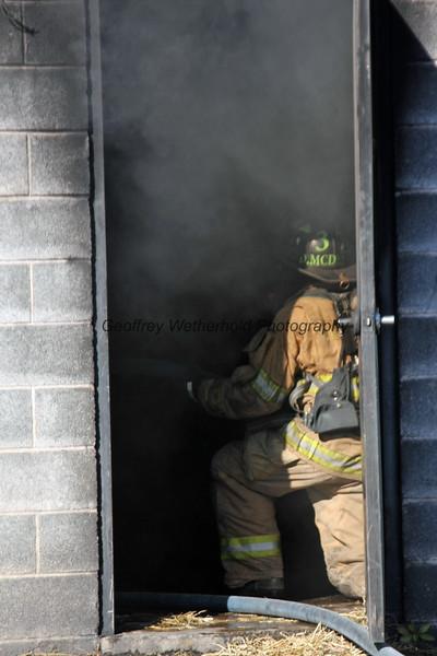 11/21/15 - Whitehall Fire Department Training Burn