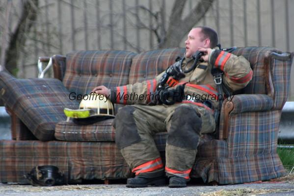 4/25/15 - Fire Training - Whitehall & Catasauqua