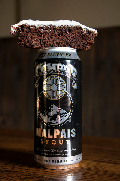Malpais Stout with Stout Cake