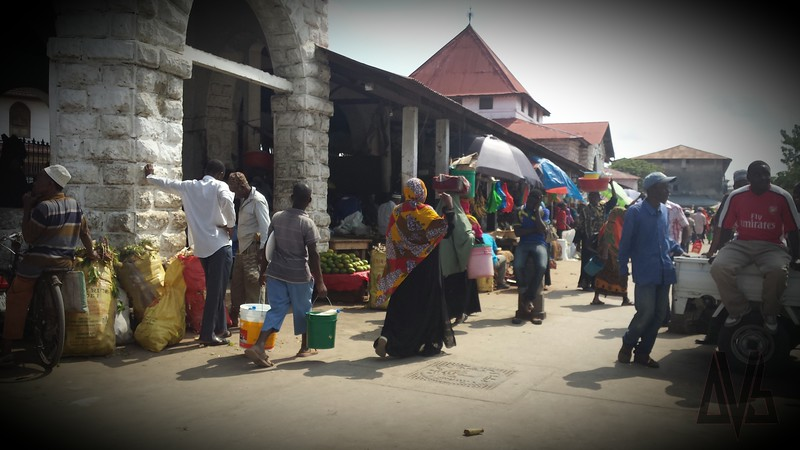 Stone Town Market Zanzibar. 2014
