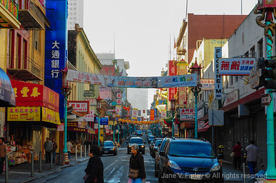 SF Chinatown morning