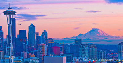 Seattle at Sunrise
