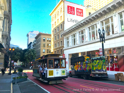 Downtown SF Cable Car