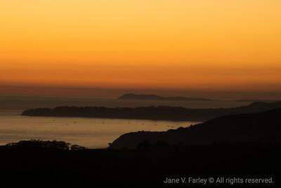 Muir Beach Lookout Sunset