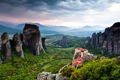 Roussanou Nunnery, Meteora