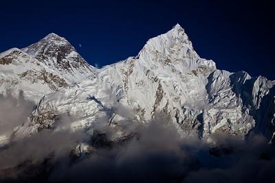 Everest, Lhotse from Kala Patar