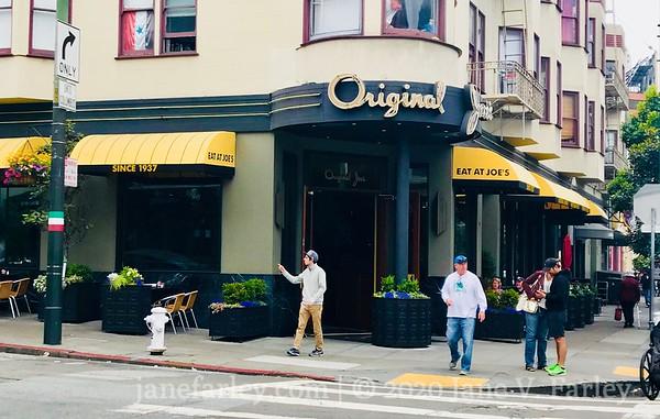 Original Joe's in North Beach SF