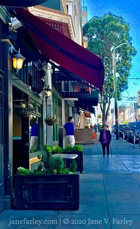 Stockton Street in North Beach