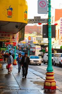 Chinatown SF Kerouac Street