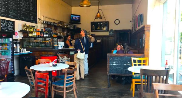 Inside Francisco Cafe