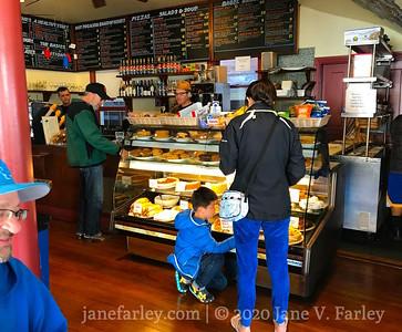 Inside Caffe Sapore in North Beach SF