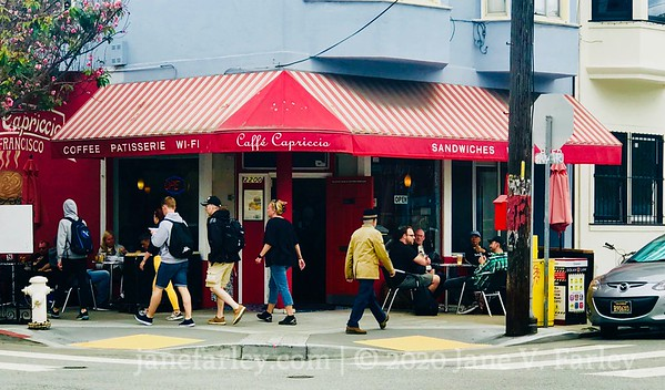 Caffe Capriccio in North Beach