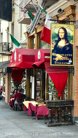 Mona Lisa Restaurant in North Beach SF
