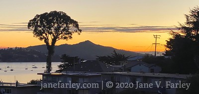Sausalito Richardson Bay  Sunrise