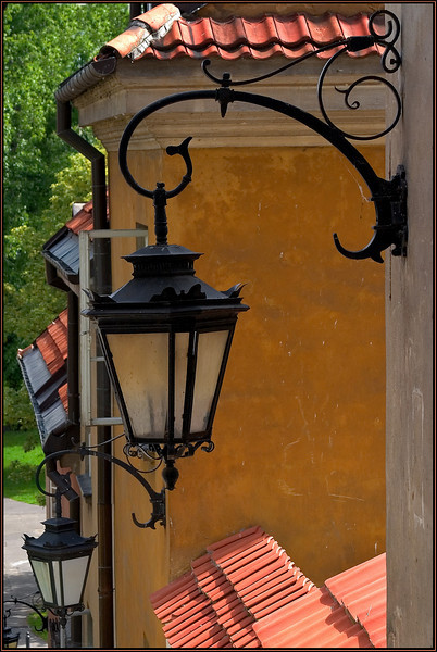 Warsaw street lamp