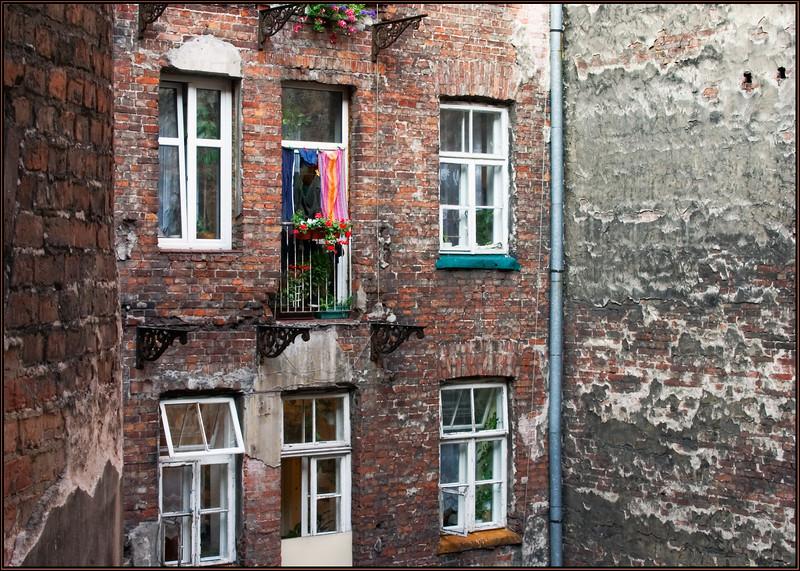 Well courtyard windows