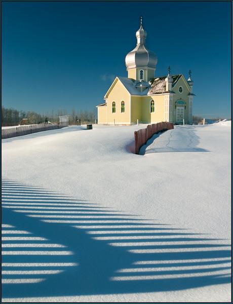 Trail to the church