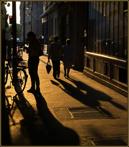 Late afternoon in Paris