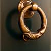 Modern door knocker (Fermo, Italy)