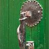 Locally made knocker (Civitella del Tronto, Italy)