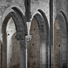 Medieval arches (San Leo, Italy, 2009)