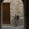 Old man admiring (Ascoli Piceno, Italy, 2009)
