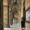 Brick arcades (Offida, Italy, 2009)