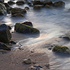 Sand stones and mist (Rodney Bay / Gros Islet, St. Lucia, 2009)
