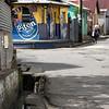 Tropical paradise downtown (Anse La Raye, St. Lucia, 2009)