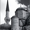 Domed towers and a minaret (Istanbul, Turkey; photo by Alina Gortel)