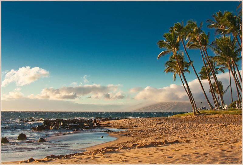 Kihei Beach (Maui; photo by Alina Gortel, 2010)