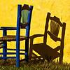 Blue chair (Puerto Vallarta, 2010, photo by Alina Gortel)
