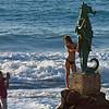 Beach modelling (Puerto Vallarta, 2010, photo by Alina Gortel)