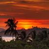 Sunset over Playa  Carillo