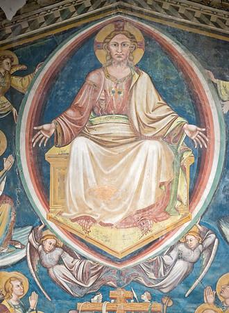 Visione dell'Oltretomba - Christ in throne