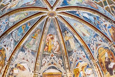 Church of Santa Maria della Rocca, Offida, Marche, Italy 2014