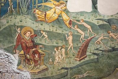 Visione dell'Oltretomba - San Michele e Angelo