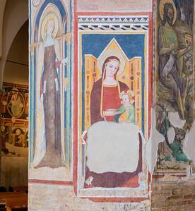 Column fresco (Andrea De Litio, 1460 and later)