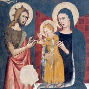 Wall fresco (Andrea De Litio, 1460 and later)