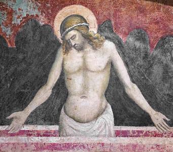 Giovanni Toscani: Pietà (fragment, 1420)
