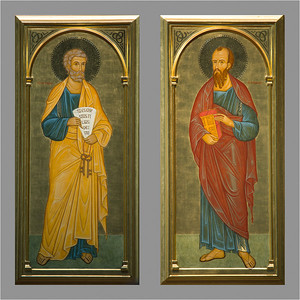 Peter and Paul; the Saints