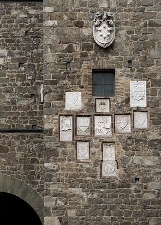 Montalcino families' crests